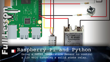 Raspberry Pi with Temperature and Moisture Sensor